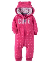 ENTERO DE MICROPOLAR CUTE marca CARTERS