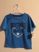 REMERA CON PROTECCION UV TURQUESA marca CARTERS