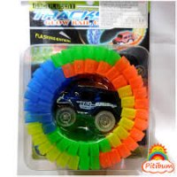Pista Luminosa Con Auto 56 Piezas MAGIC TRACKS ORIGINAL marca