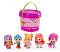 Pinypon Mini Balde Mix Is Max Con 5 Figuras Intercambiables marca